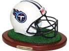 Tennessee Titans Replica Helmet with Wood Base Collectibles