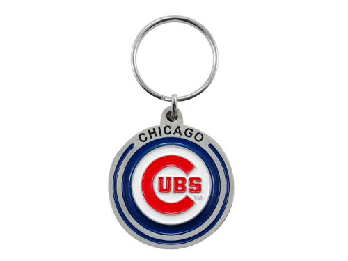Chicago Cubs Pewter Keychain