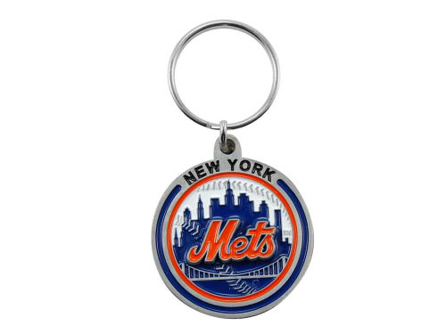 New York Mets Pewter Keychain