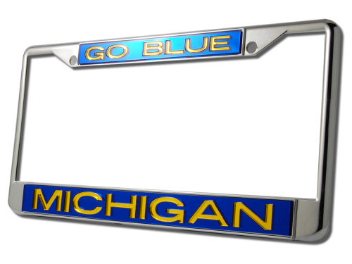 Michigan Wolverines Laser Frame