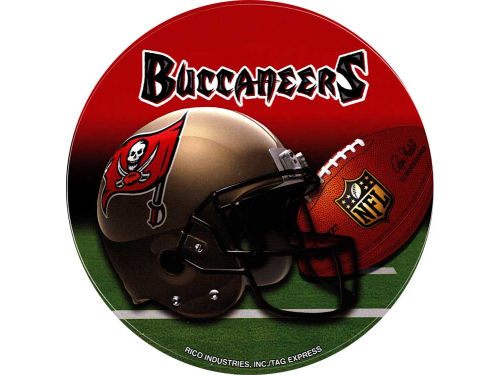 Tampa Bay Buccaneers Rico Industries Round Vinyl Decal
