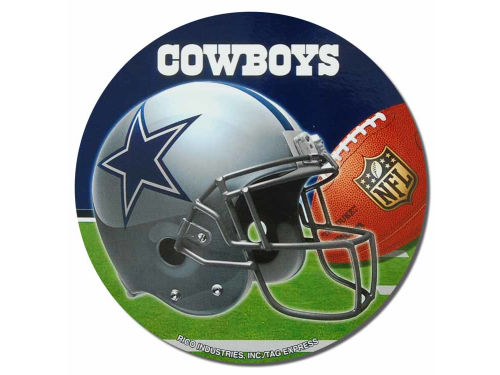 Dallas Cowboys Rico Industries Round Vinyl Decal