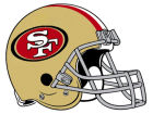 San Francisco 49ers 12in Car Magnet Auto Accessories