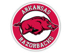 Arkansas Razorbacks 12in Car Magnet Auto Accessories