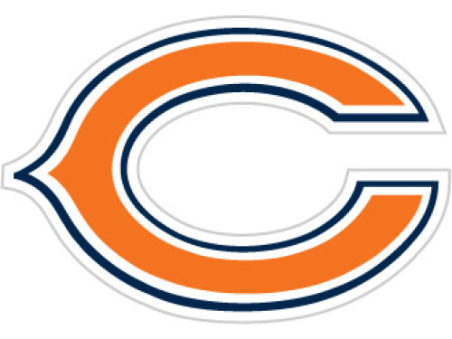 Chicago Bears 12in Car Magnet