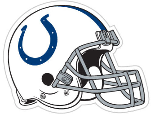 Indianapolis Colts 12in Car Magnet