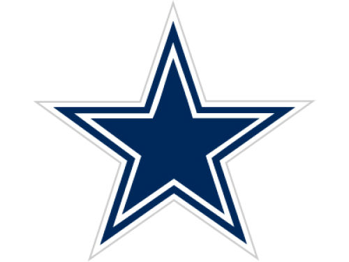 Dallas Cowboys 12in Car Magnet