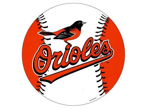 Baltimore Orioles 12in Car Magnet