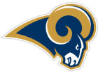 St. Louis Rams 12in Car Magnet Auto Accessories