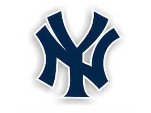 New York Yankees 12in Car Magnet