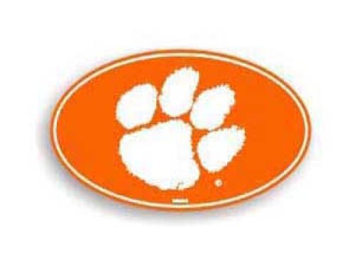 Clemson Tigers 8in Car Magnet