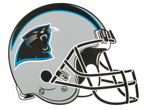 Carolina Panthers 8in Car Magnet