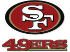 San Francisco 49ers Rico Industries Static Cling Decal Auto Accessories