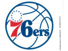 Philadelphia 76ers Rico Industries Static Cling Decal Auto Accessories