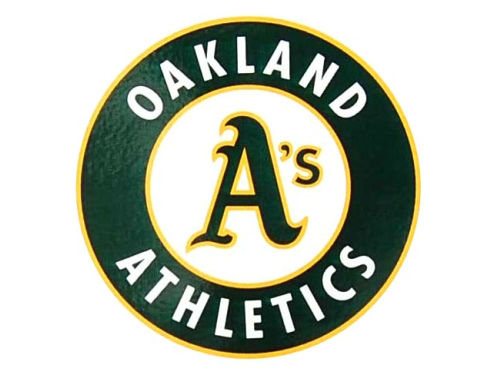 Oakland Athletics Rico Industries Static Cling Decal