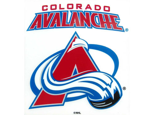Colorado Avalanche Rico Industries Static Cling Decal