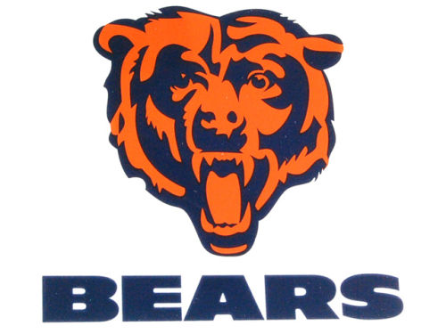 Chicago Bears Rico Industries Static Cling Decal