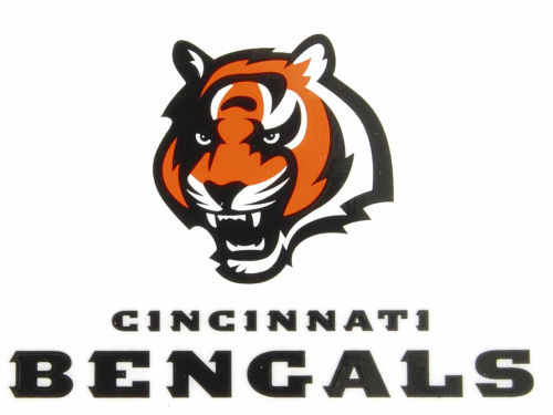 Cincinnati Bengals Rico Industries Static Cling Decal