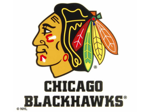 Chicago Blackhawks Rico Industries Static Cling Decal