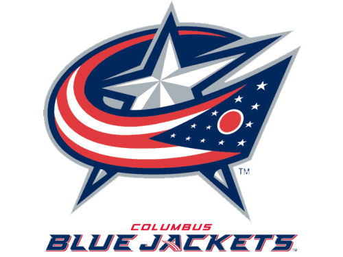 Columbus Blue Jackets Rico Industries Static Cling Decal
