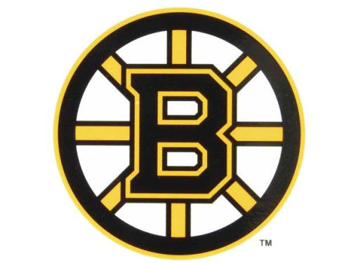 Boston Bruins Rico Industries Static Cling Decal