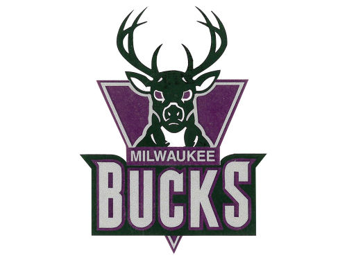 Milwaukee Bucks Rico Industries Static Cling Decal
