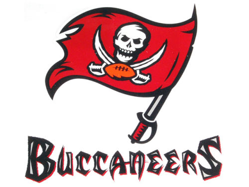 Tampa Bay Buccaneers Rico Industries Static Cling Decal