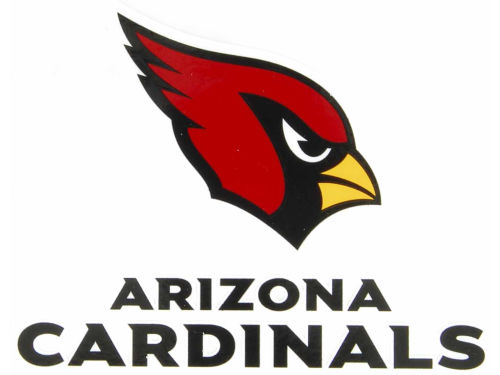 Arizona Cardinals Rico Industries Static Cling Decal