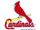 St. Louis Cardinals Rico Industries Static Cling Decal Auto Accessories