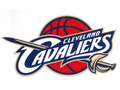 Cleveland Cavaliers Rico Industries Static Cling Decal