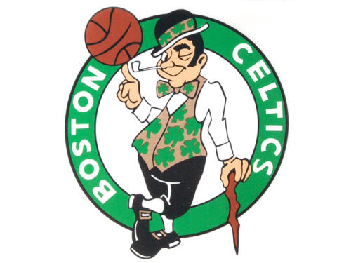 Boston Celtics Rico Industries Static Cling Decal