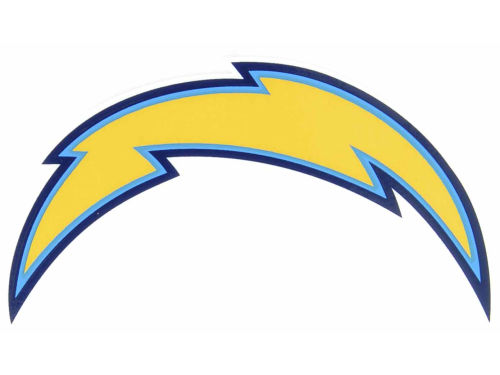 San Diego Chargers Rico Industries Static Cling Decal