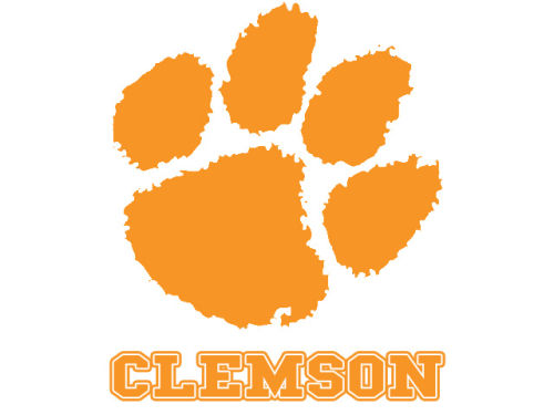 Clemson Tigers Rico Industries Static Cling Decal
