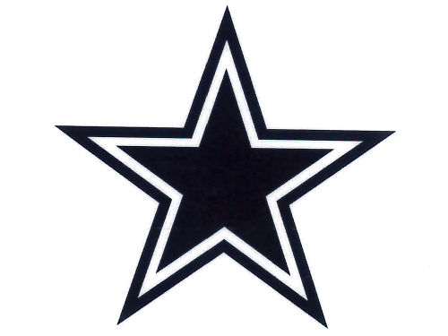 Dallas Cowboys Rico Industries Static Cling Decal