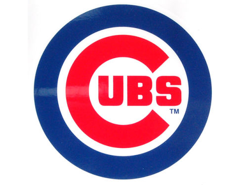Chicago Cubs Rico Industries Static Cling Decal