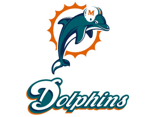 Miami Dolphins Rico Industries Static Cling Decal