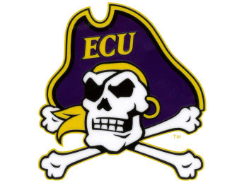 East Carolina Pirates Rico Industries Static Cling Decal images, details and specs