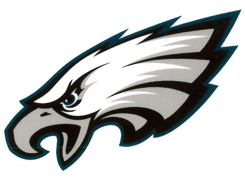 Philadelphia Eagles Rico Industries Static Cling Decal