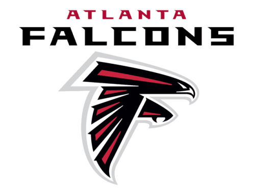 Atlanta Falcons Rico Industries Static Cling Decal