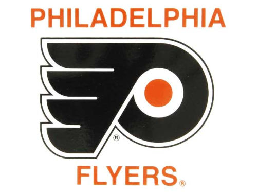 Philadelphia Flyers Rico Industries Static Cling Decal