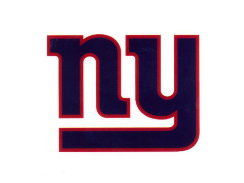 New York Giants Rico Industries Static Cling Decal
