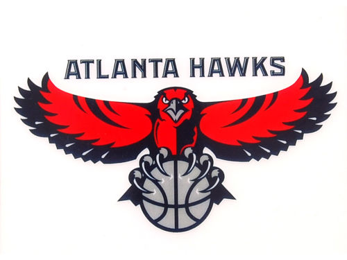 Atlanta Hawks Rico Industries Static Cling Decal