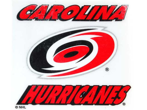 Carolina Hurricanes Rico Industries Static Cling Decal