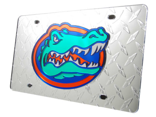 Florida Gators Diamond Acrylic Laser Tag