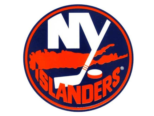 New York Islanders Rico Industries Static Cling Decal
