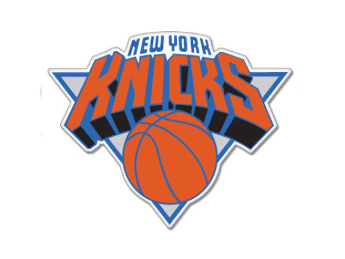 New York Knicks Rico Industries Static Cling Decal