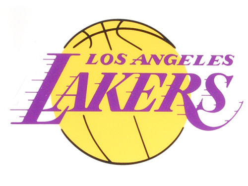 Los Angeles Lakers Rico Industries Static Cling Decal