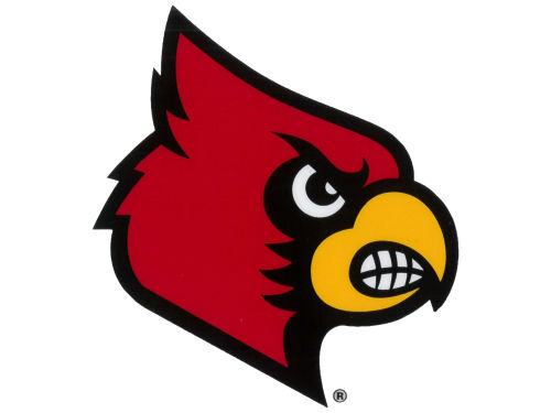 Louisville Cardinals Rico Industries Static Cling Decal