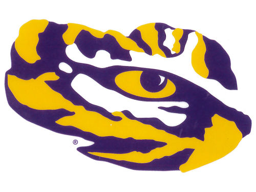 LSU Tigers Rico Industries Static Cling Decal