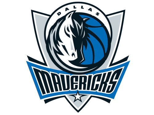 Dallas Mavericks Rico Industries Static Cling Decal